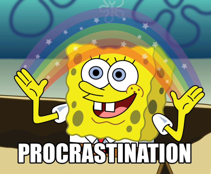 How To: procrastinate.