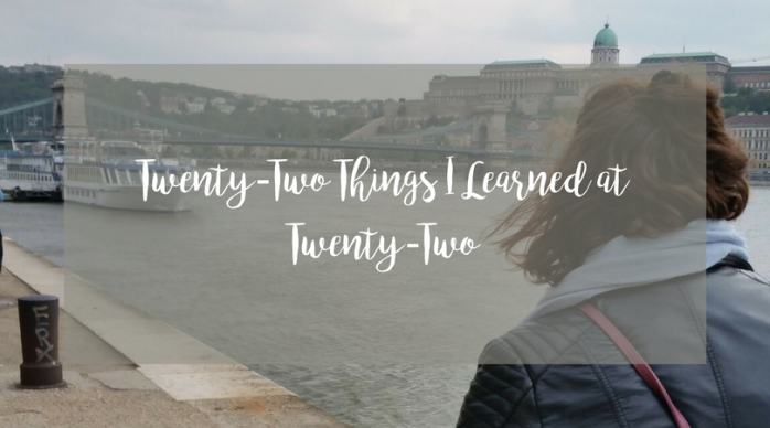 22 Things I Learned at22